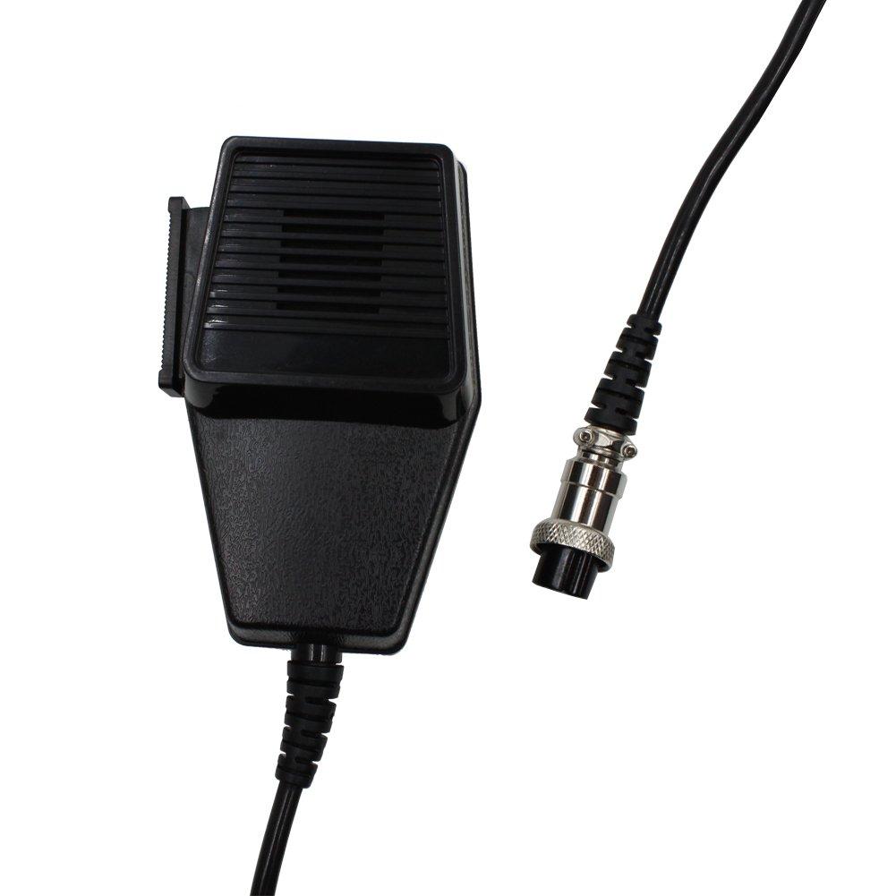 KENMAX 4ピン交換用スピーカーマイクマイクタイプトランシーバーアマチュア無線機用車CBラジオコブラUniden B014QPSTJI