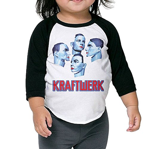 Patrick Kids Kraftwerk 3/4 Sleeve Raglan