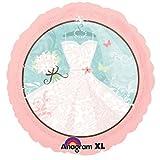 7 pc Bridal Shower Something Blue Dress Balloon Bouquet Party Decoration Wedding