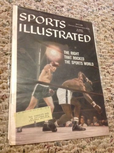 SI: Sports Illustrated July 6, 1959 The Right that Rocked the Sports World G from Unknown