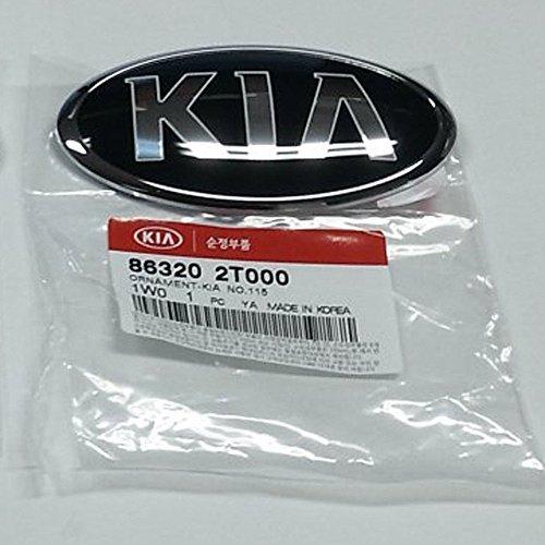 Kia Oem Accessories - Kia Motors OEM Genuine 863202T000 Rear Trunk Emblem 1-pc For 2011 2012 2013 Kia Optima : K5