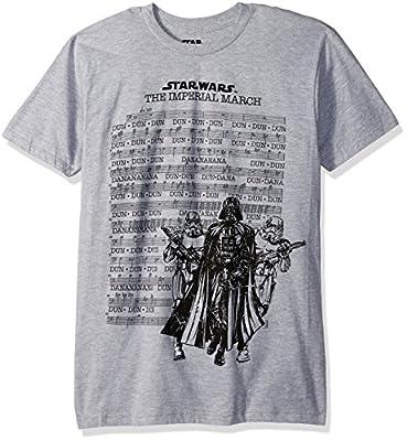 Star Wars Men's Darth Vader March Sheet Short Sleeve T-Shirt