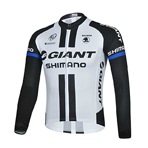 Strgao 2016 Men's Pro Giant Racing Team MTB bike Bicycle Cycling Long Sleeve Jersey Jacket ()