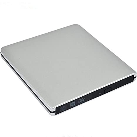 Unidad de CD DVD externa, Portable USB DVD CD RW grabador ...
