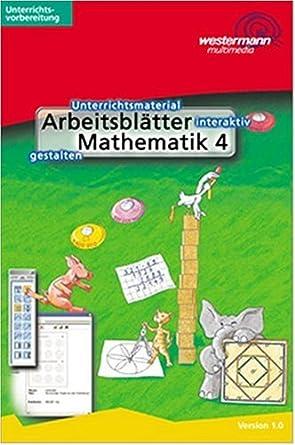 Arbeitsblätter Mathematik Klasse 4. CD-ROM für Windows 98/2000/ME/NT ...