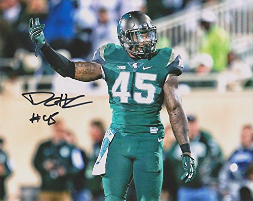 Darien Harris Michigan State Spartans NCAA 8x10'' Autograph Photo - Combat Uniform ()