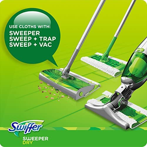health, household, household supplies, cleaning tools, dusting,  dust mops, pads 8 picture Swiffer Sweeper Dry Sweeping Pad Multi Surface Refills in USA