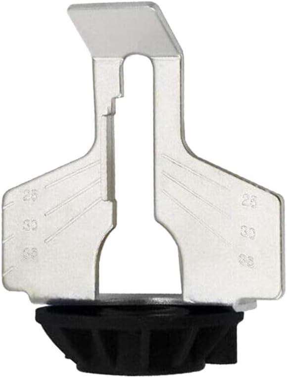 Motosierra afilador eléctrico de pulir y Grinder Kit de accesorios Lentes de diente de sierra Pulido accesorio de fresadora Set 5pcs