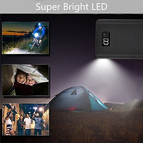 Power Bank 24000mAh Portable Charger Battery Pack 4 OutPut Ports Huge Capacity Backup Battery Compatible Smart Phone Almost All Android Phone And Others by KENRUIPU (Image #5)