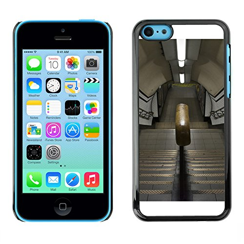 Premio Sottile Slim Cassa Custodia Case Cover Shell // F00030768 escalier Metro // Apple iPhone 5C