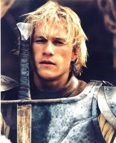 Heath Ledger Poster A Knight'S Tale #01B 24x36in (Knights Tale Poster)