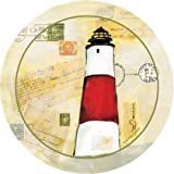 Set of Four Lighthouse I Occasions Drink Coasters - Style VJP3