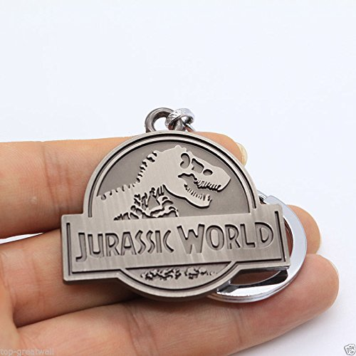 Amazon.com: Jurassic World/Park Logo Gris 3.75