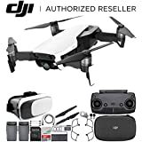 DJI Mavic Air Drone Quadcopter (Arctic White) Virtual Reality Experience Essential Bundle