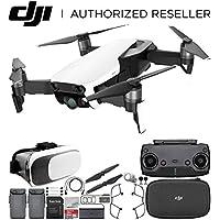 DJI Mavic Air Drone Quadcopter (Arctic White) Virtual Reality Experience Essential Bundle