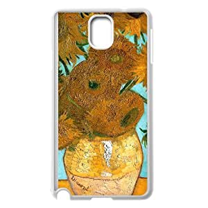 Sunflowers by Vincent Van Gogh Samsung Galaxy Note 3 Cell Phone Case White Y7413487