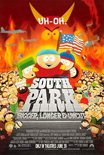 South Park Bigger, Longer & Uncut Original Single Sided Rolled 27x40 Movie Poster 1999 (South Park Bigger Longer And Uncut 1999)