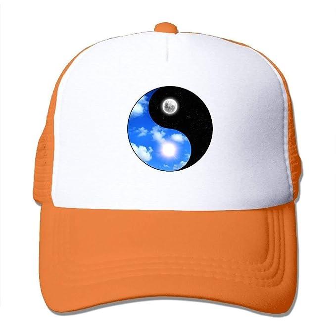 Gorras de béisbol/Hat Trucker Cap Yoga Yin Yang Sun Moon Mesh Unisex Snapback Baseball Trucker Hats Adjustable Unique Personality Cap: Amazon.es: Ropa y ...