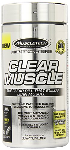 MuscleTech Clear Muscle, Advanced Muscle and Strength Buildi