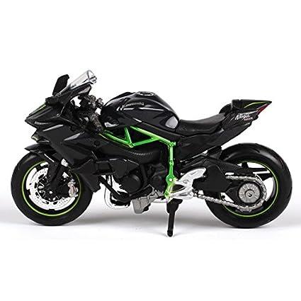 Buy Maisto 118 Kawasaki Ninja H2 R 45 Inch Black Box Pack