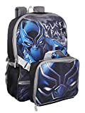 #4: Marvel Black Panther Backpack With Lunch Kit Backpack