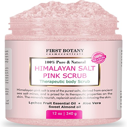 100-Natural-Himalayan-Salt-Scrub-12-oz-with-Lychee-Oil-and-Sweet-Almond-Oil-Best-Body-scrub-Deep-Skin-Exfoliator-Anti-Cellulite-Body-Wash-Moisturizer-Detox