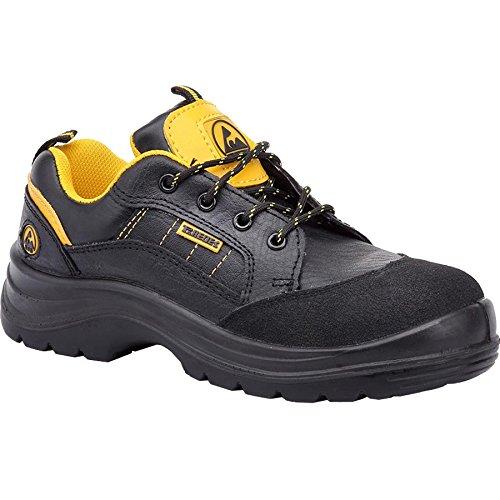 Paredes sp5018ne43litio ESD zapatos de seguridad S3talla 43NEGRO/AMARILLO