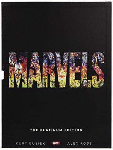- Marvels: The Platinum Edition Slipcase