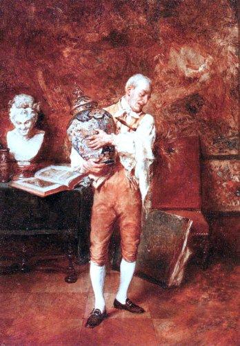 Jean Charles Meissonier Le Valet De Chambre - 18.1
