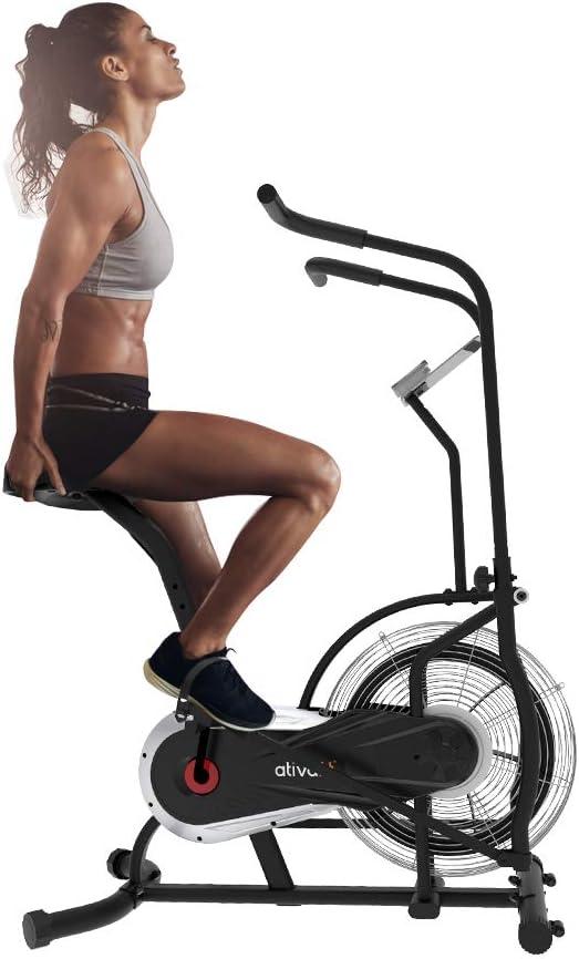 Ativafit Fan Bike Exercise Upright AirBike