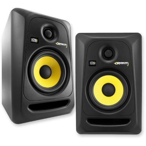 KRK RP5G3- 59107 NA Rokit 5 Generation 3 Powered Studio Monitor - Pair
