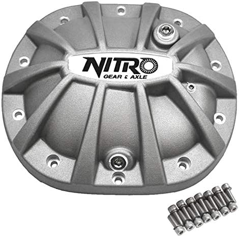 Nitro Gear NPCOVER-C8.25-FSJK Fits Chrysler 8.25 Inch Differential Covers X-treme Nitro Gear and Axle NPCOVER-C8.25