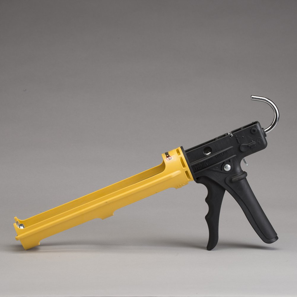 Dripless ETS3000EL 13 oz. 18:1 Ratio Drip Composite Caulk Gun, Yellow