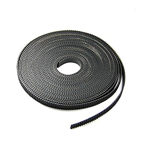 FEBNISCTE 10 Meters GT2 timing belt width 6mm Fit for RepRap Mendel Rostock  Prusa GT2-6mm Belt