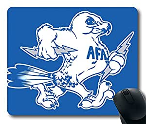 Custom Gaming Mouse Pad with Air Force Falcons2 Non-Slip Neoprene Rubber Standard Size 9 Inch(220mm) X 7 Inch(180mm) X 1/8(3mm) Desktop Mousepad Laptop Mousepads Comfortable Computer Mouse Mat