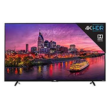 TCL 55P607 55 4K Ultra HD Roku Smart LED TV (2017 Model)