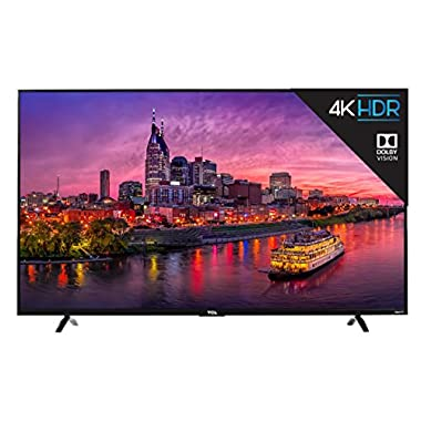 TCL 55-Inch 4K Smart LED TV 55P607 (2017) with Roku