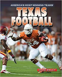 Book Texas Football (America's Most Winning Teams)