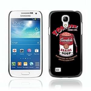 Designer Depo Hard Protection Case for Samsung Galaxy S4 Mini / Zombie Brain Soup