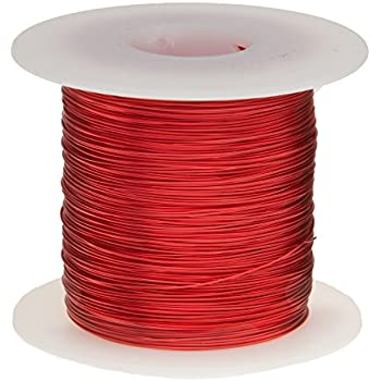 Remington Industries 26SNSP 26 AWG Magnet Wire, Enameled Copper Wire ...