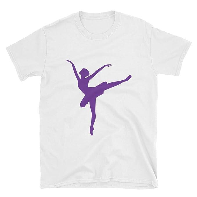 8fe12b501eff6 Amazon.com: Dance t Shirt Dancer Silhouette Print Women Dancer Dance ...