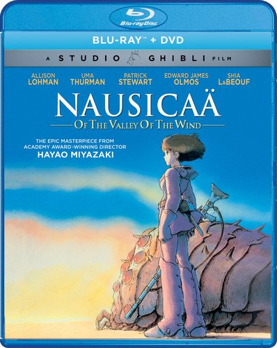 Nausicaä of the Valley of the Wind (Bluray/DVD Combo) [Blu-ray] (Nausicaa Of The Valley Of The Wind Anime)