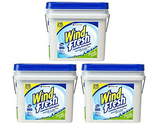 WindFresh Powder Laundry Detergent (35 lbs., 215 loads) by WindFresh Powder Laundry Detergent (35 lbs., 215 loads) (3 Pack)