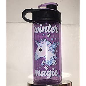 Magic Unicorn Christmas 16 oz Kids Water bottle BPA free