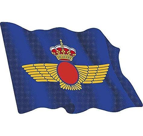 Amazon.es: Artimagen Pegatina Bandera ondeante Ejército del Aire 60x50 mm.