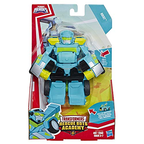 """Playskool Heroes Transformers Rescue Bots Academy Hoist Converting Toy Robot, 6"""" Action Figure, Toys for Kids Ages 3 & Up"""
