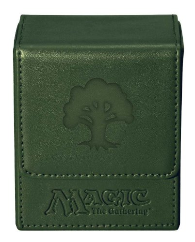 Ultra Pro Magic the Gathering: MTG Mana Magnetic Flip Box (Deck Box / 82770) Green