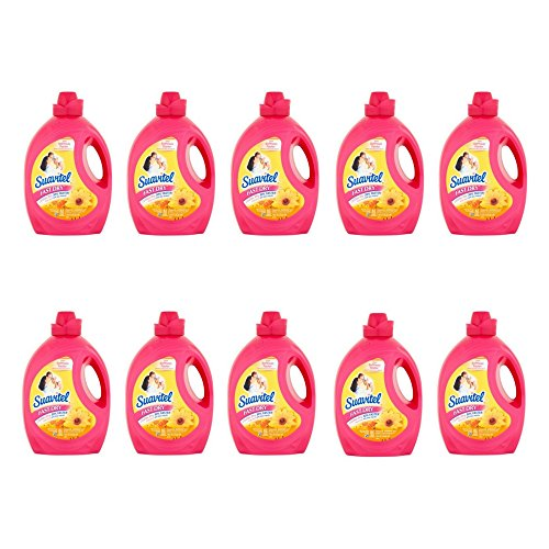 Suavitel Fast Dry Magical Morning Sun Fabric Conditioner, 135 fl oz (pack of 10) by Suavitel
