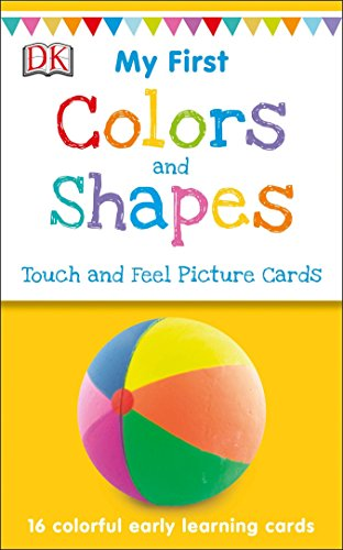How To Play Go Fish Card Game - My First Touch and Feel Picture Cards: Colors and Shapes (My 1st T&F Picture Cards)