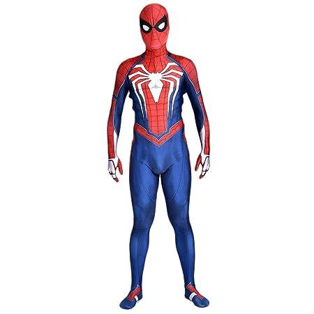 NDHSH Traje de Disfraces de Spiderman niños Cosplay Mono Traje ...